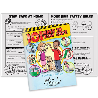 101 Ways To Stay Safe Educational Activities Book