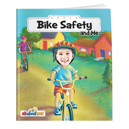 All About Me™ Bike Safety & Me Children's Book