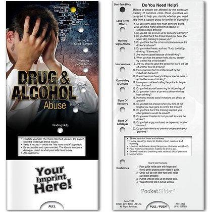 Pocket Slider™ - Drug and Alcohol Abuse
