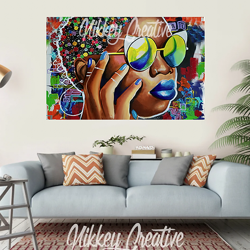 """""""CANDY COATED"""" CANVAS PRINT"""