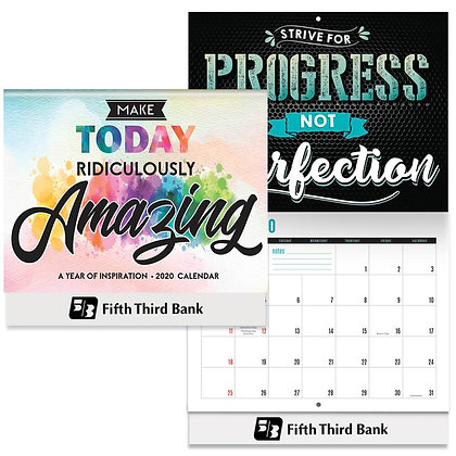 2020 Wall Calendar: Make Today Ridiculously Amazing: A Year Of Inspiration