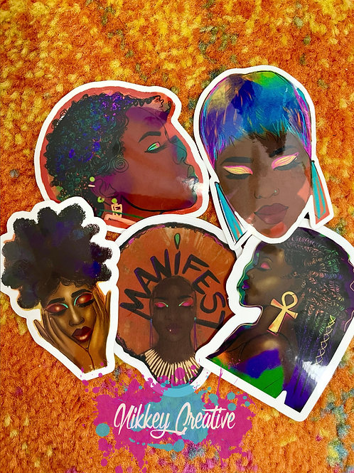 """AFRO STICKERS """"VOLUME 1"""""""