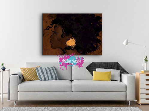 """""""FOREVER MORE"""" CANVAS PRINT."""