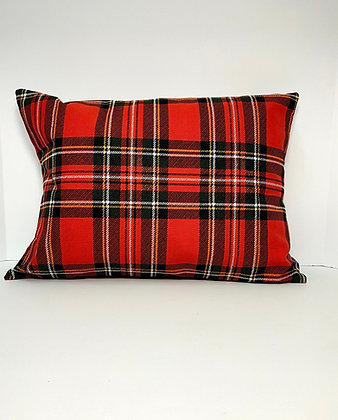 Healing Hearts Mini Fabric Pillow and Cover - Plaid