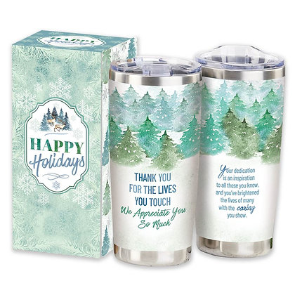 Insulated Tumbler 20-Oz. In Holiday Gift Box