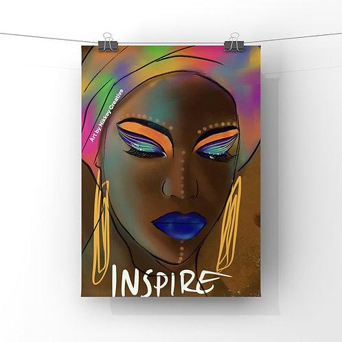 """""""INSPIRE"""" PHOTO PRINT"""