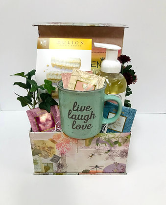 Live, Love, Laugh Mother's Day Gift Basket
