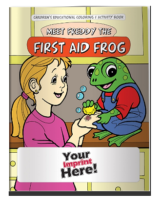 Coloring Book - First Aid Frog