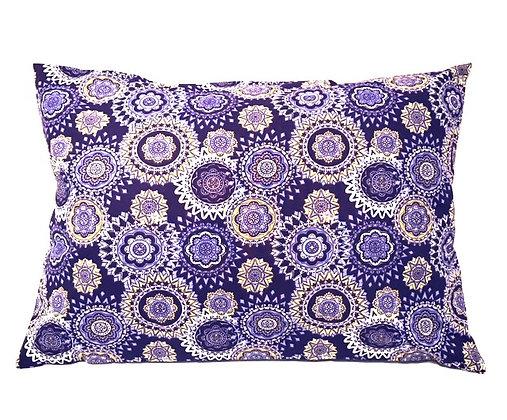 Mastectomy Pillow, Heart Surgery Pillow Purple and Yellow Geometric Design