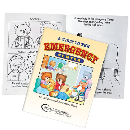 A Visit To The Emergency Center Educational Activities Book (Teddy Bear Edition)
