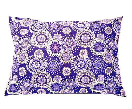 Purple Fabric Cough Pillow