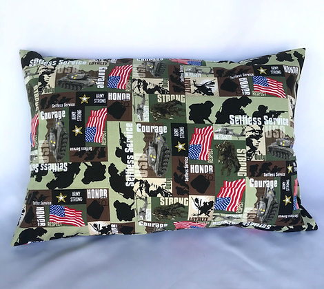Army Healing Hearts Pillow