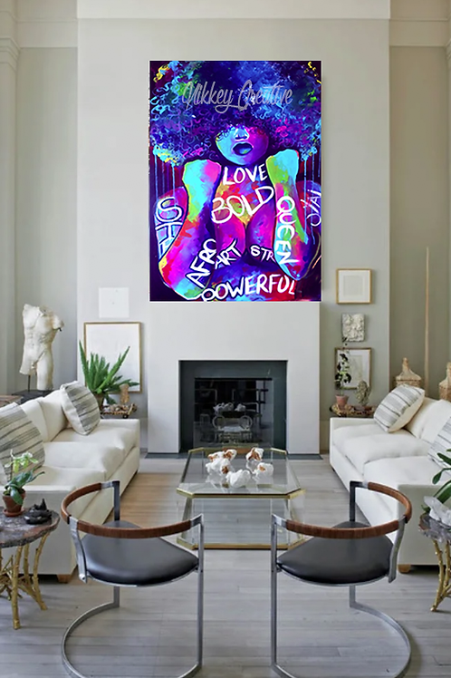 """BREAKTHROUGH"" CANVAS PRINT"