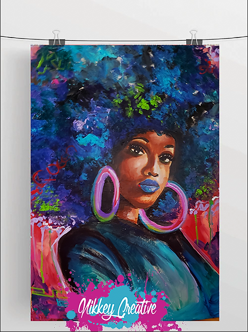 """"""" FRO THANGS"""" GLOSSY PHOTO PRINT"""