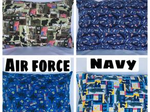 Military Themed Pillows For Veterans