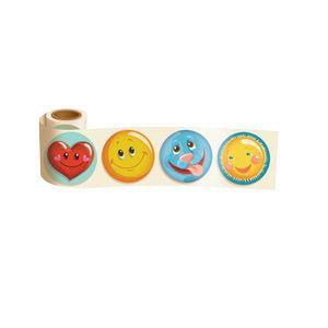 Fun Sticker Rolls™ - Smiley Faces