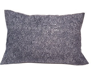 Navy Blue With White Dots, Cough Support Pillow, Rectangle Pillow, Bariatric Pil