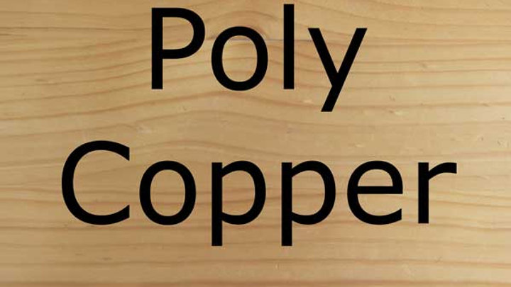 Balanced Equine, Poly copper