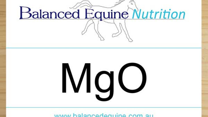 Balanced Equine Nutrition, Magnesium oxide 57% Mg