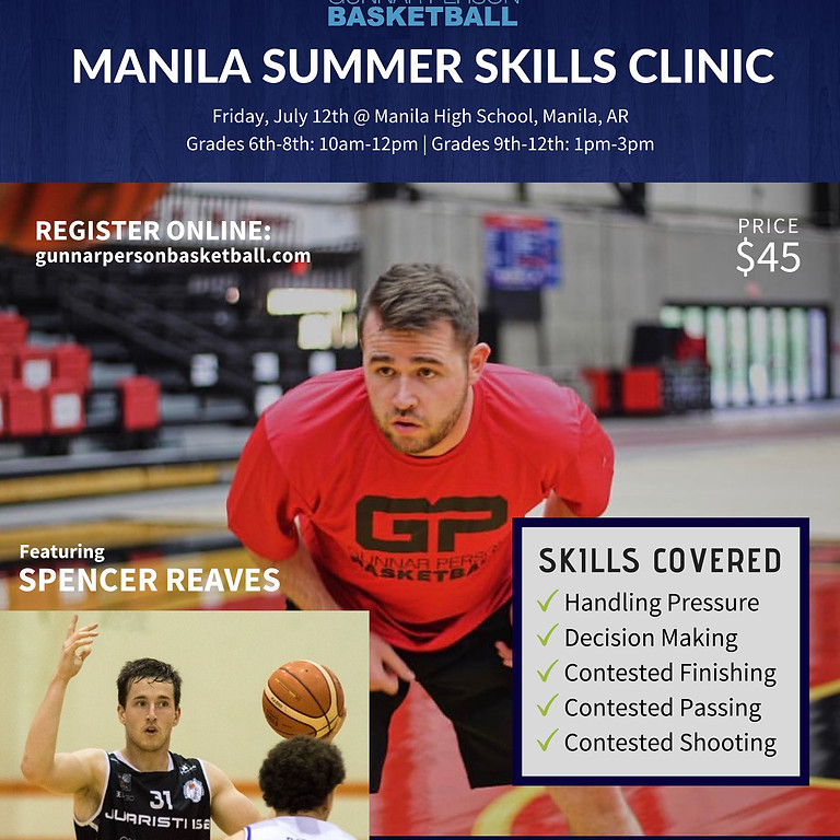 Manila Summer Skills Clinic Featuring Spencer Reaves