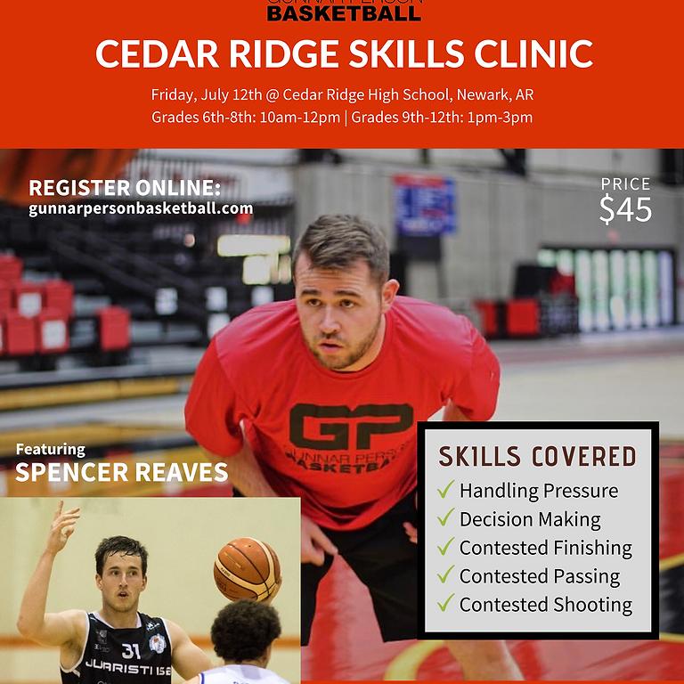 Cedar Ridge Summer Skills Clinic Featuring Spencer Reaves