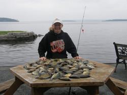 Fishing at Sunset Cove Resort
