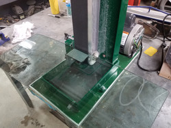 Glass cutting to exact shape