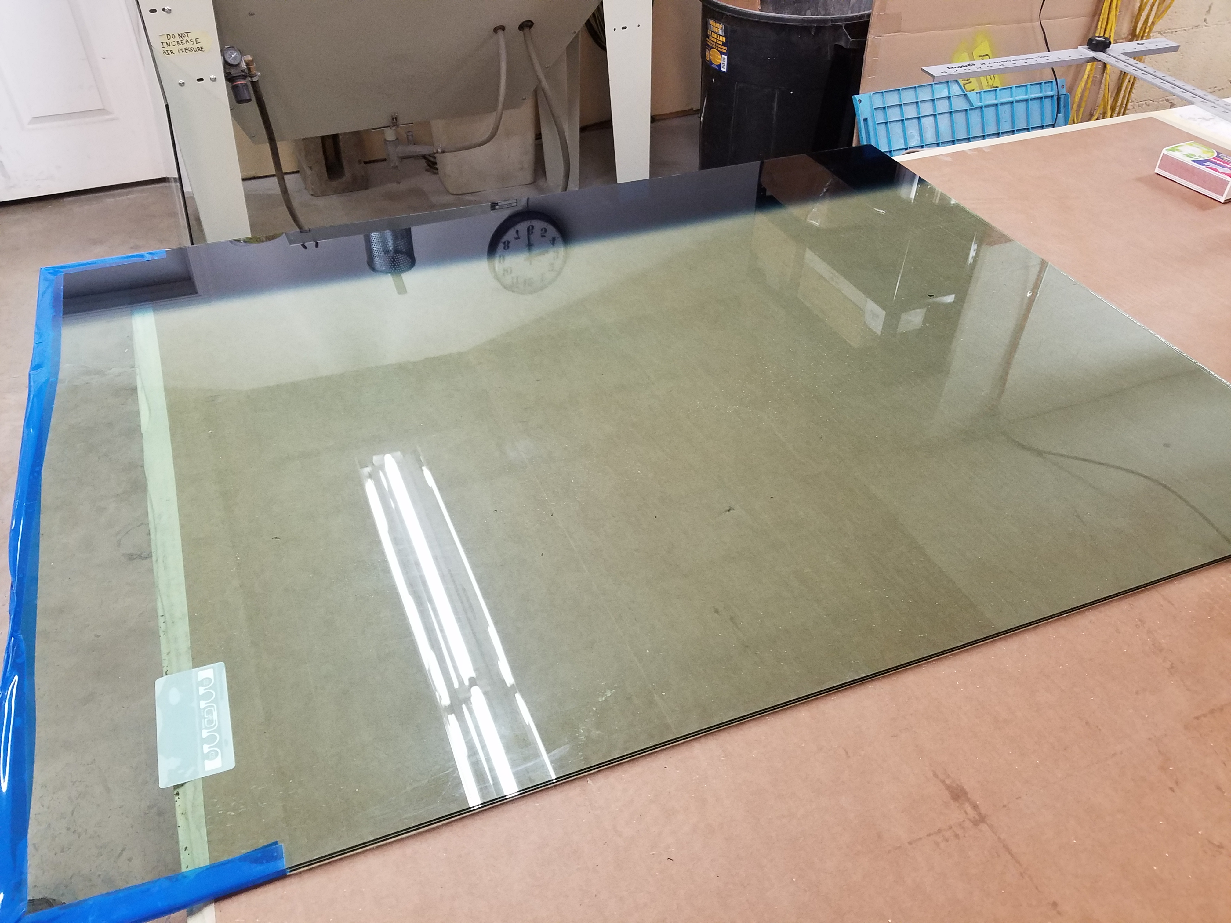 NEW LAMINATED TINT GLASS