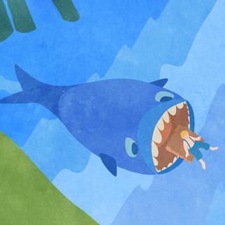 """How the Whale Got His Throat"" R.Kipling"