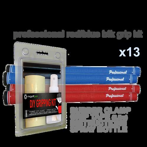 Professional Series Red or Blue (13) PLUS DIY Kit