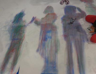 もう一人の自分、私の影は何色? in 入間市立東金子小学校