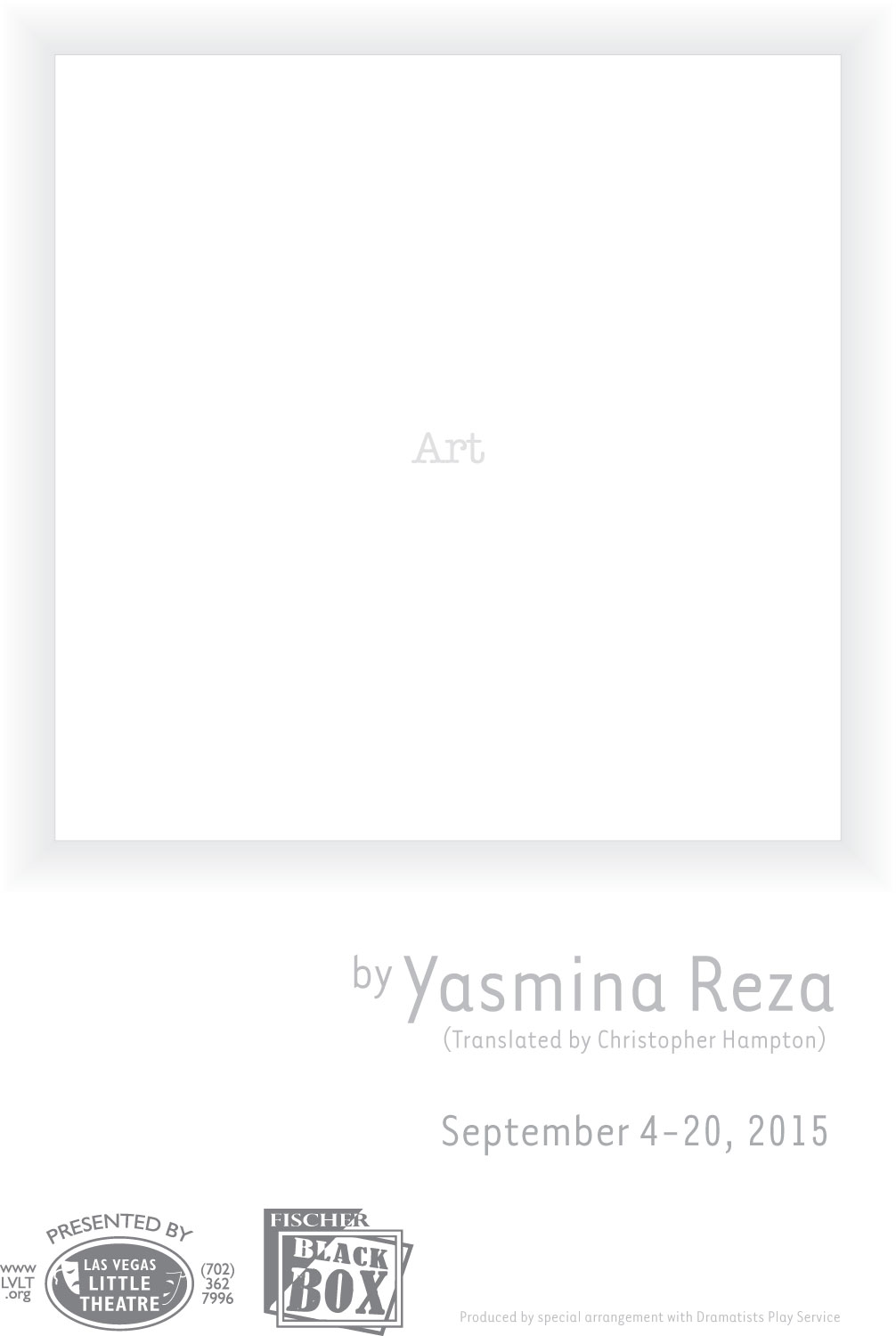 Art White On White Painting Yasmina Reza