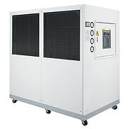 Dual temperature cooled water chiller