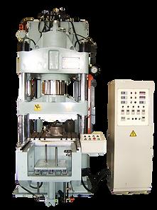 Brake Pad Compression Forming Machine