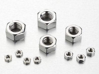 HEX NUTS, DIN934, DIN439, ANSI B18.6.3, JIS B1181
