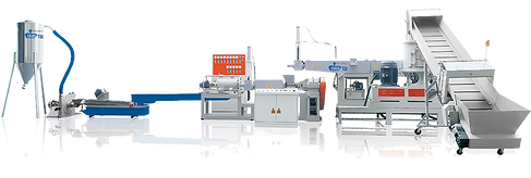 2 Stages Plastic Film Recycling Machine (Die-face Cutting)