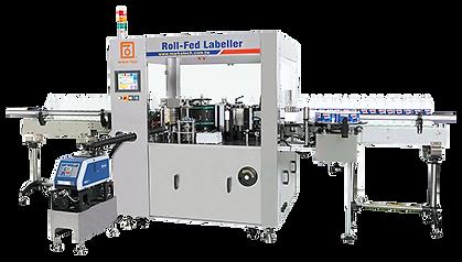 Roll-Fed熱熔膠貼標設備
