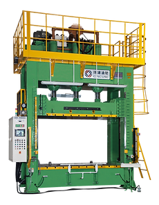 Motor carpet and inner soft components compression Forming Machine