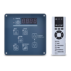5. Touch Sensitive Control Panel + Remote controller, (Feedback Control Signal from Control Panel)