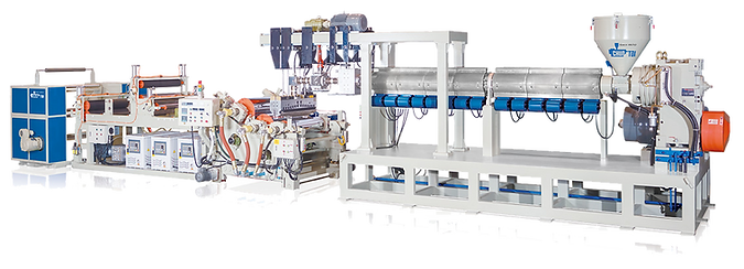 A-PET / PLA Vacuum Forming Sheet Extrusion Machine
