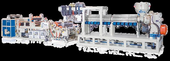 Machine de formage sous vide de films A-PET / PLA