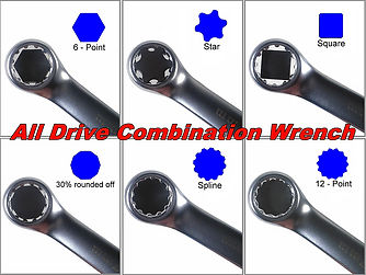 All Drive Combination Wrench