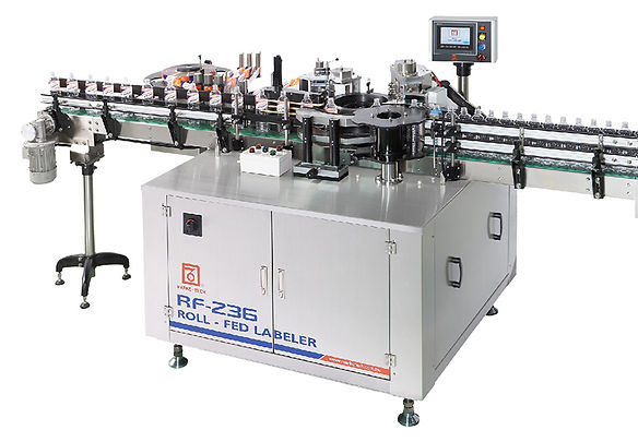 Linear S-Type Roll-Fed Labeler