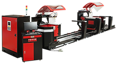 Double Mitre Saw Machine