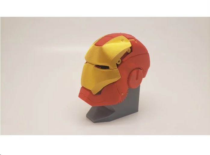 Mechanical Iron Man SD Card Holder