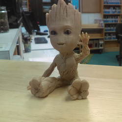 3D Printed Baby Groots