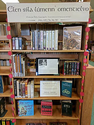 tolkien book display