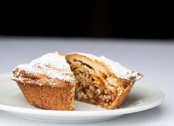 Homemade Engadine Nut Pie