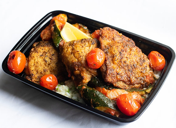 Oregano & Garlic Chicken