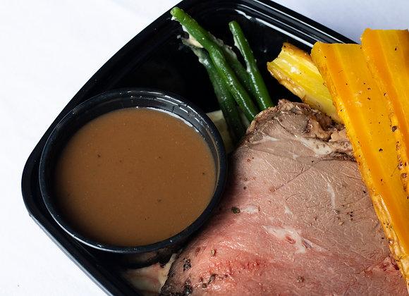 Mustard Rubbed Roast Beef
